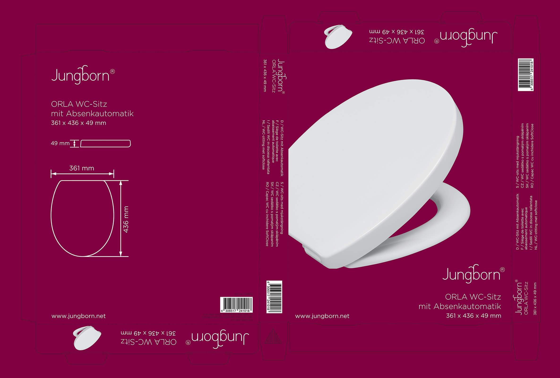 Jungborn-Kartonage Hamberger Sanitary